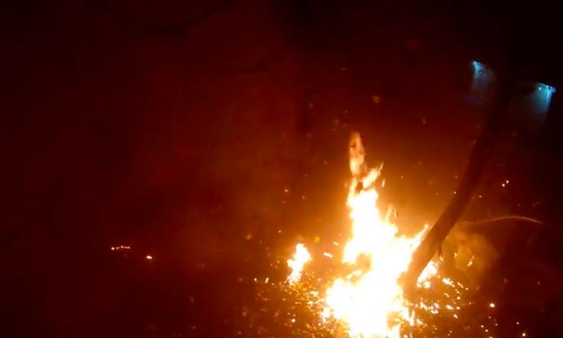 Видео теракта в Киеве опубликовано в Сети