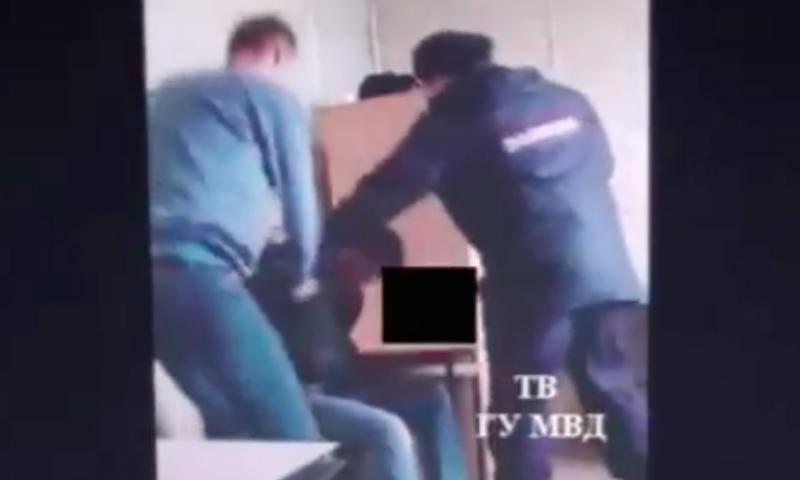 Укравший пиво мужчина избил сам себя в отделении полиции