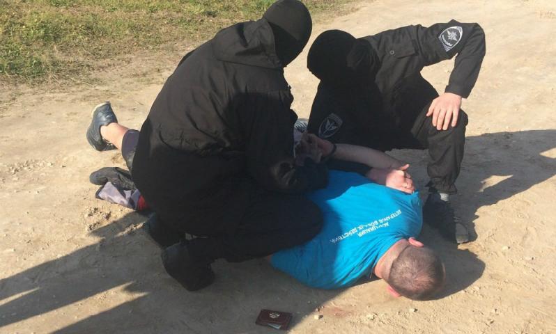 Задержание начальника районной полиции в Нижегородской области снято на видео