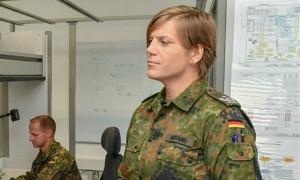 Трансгендер Анастасия возглавила батальон в немецкой армии