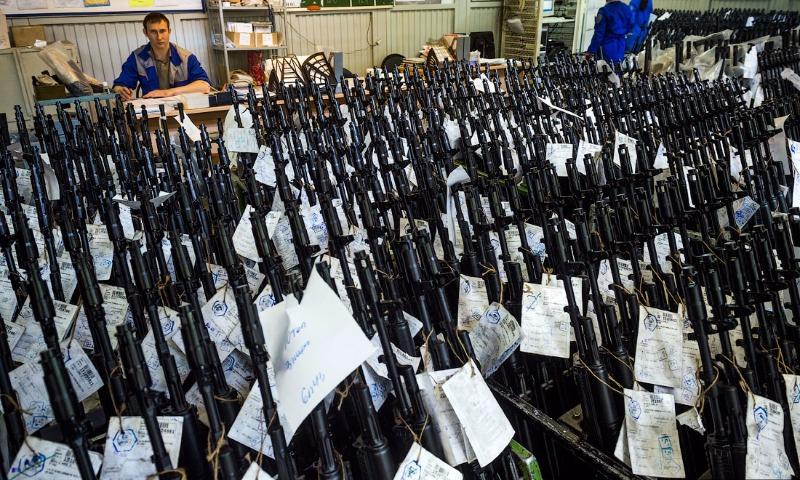 Россия подарила Филиппинам автоматы Калашникова и миллион патронов