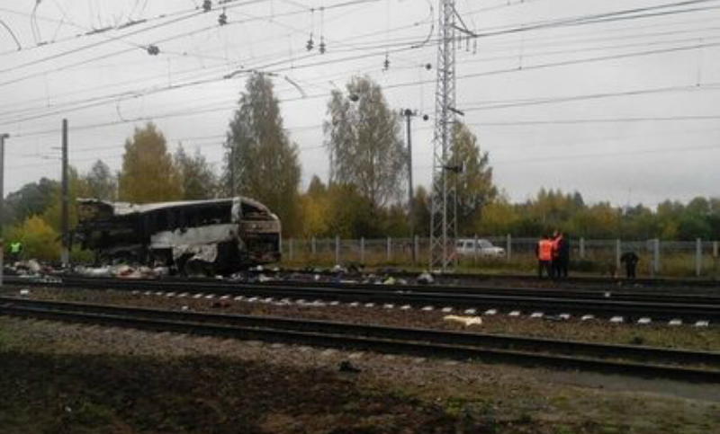 Столкновение автобуса с поездом под Владимиром унесло жизни 20 человек