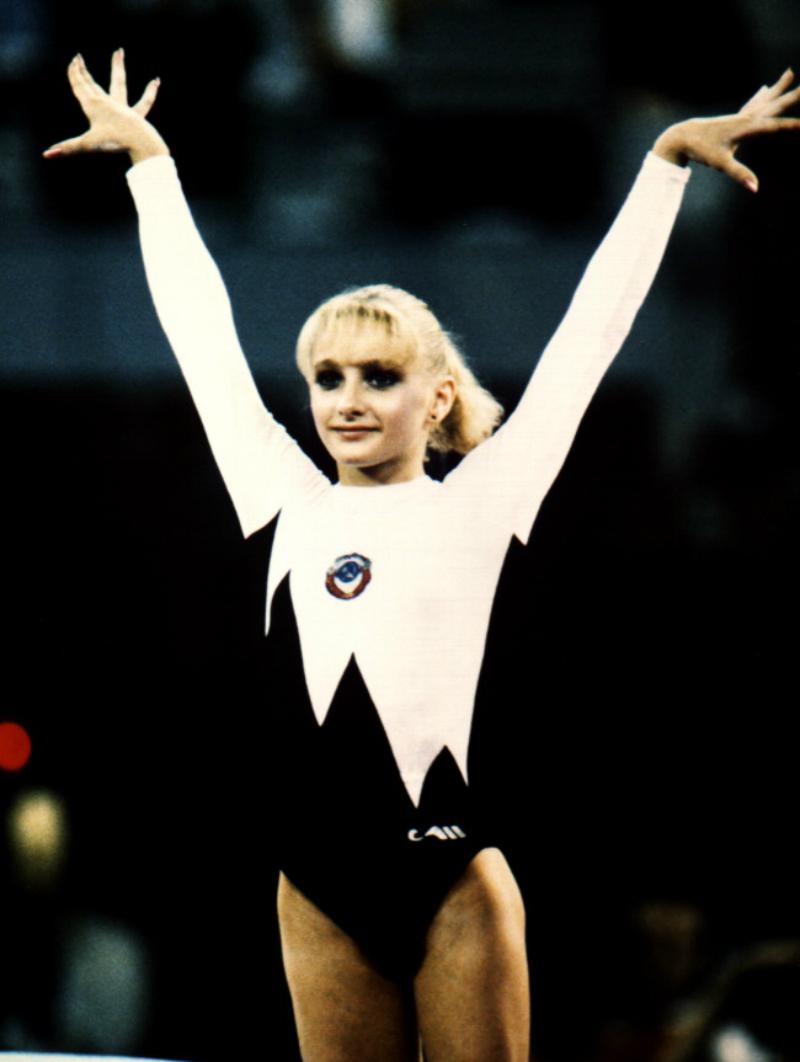 Татьяна Гуцу в сборной СССР