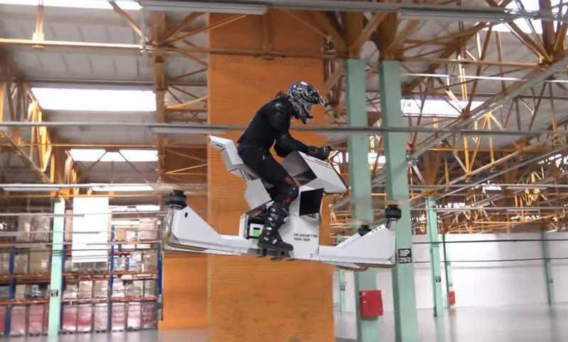 Летающие мотоциклы тестирует перед вводом в строй полиция Дубая