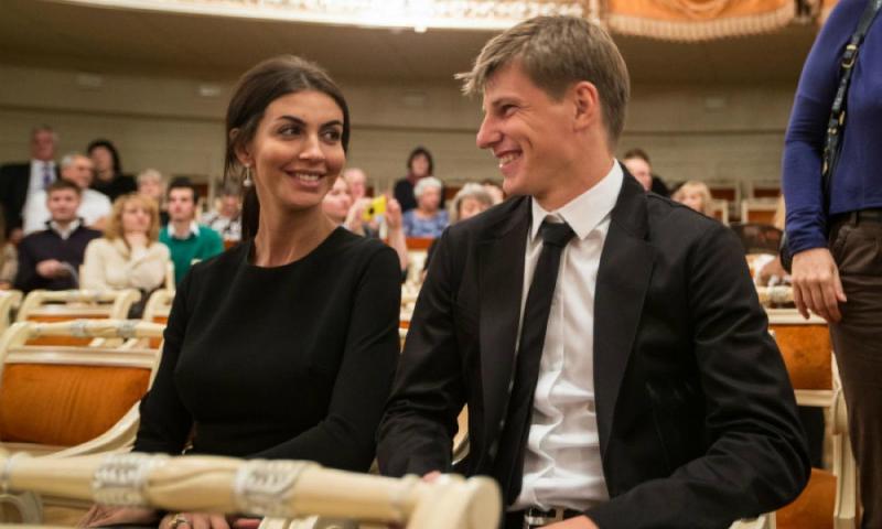 Жена Андрея Аршавина ушла от него через год после свадьбы
