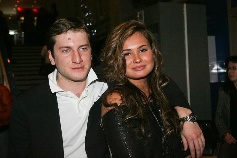 С первой женой Анастасией Кочетковой