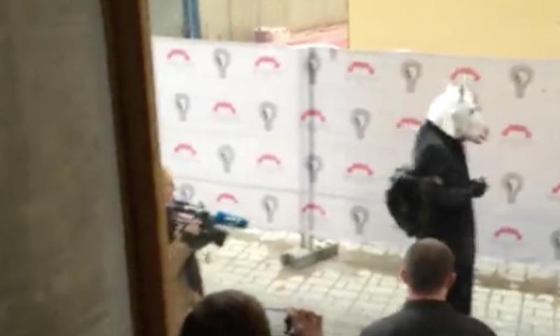 С пресс-конференции Собчак выгнали