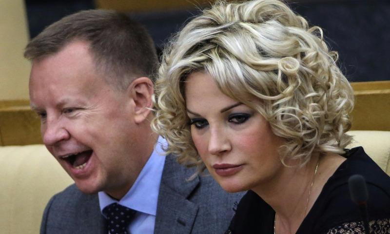 Мария Максакова и Денис Вороненков.