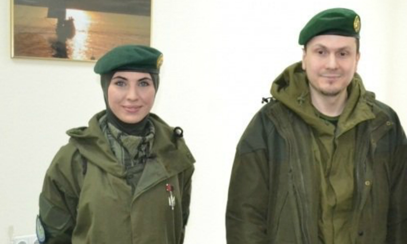 В Киеве убили жену чеченского боевика Адама Осмаева