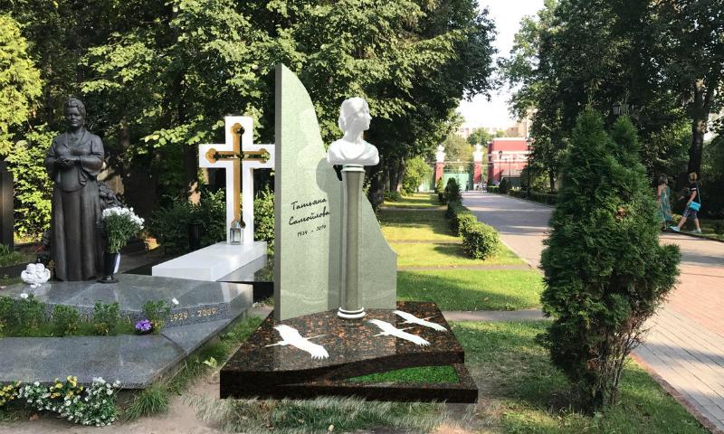Хрустальный памятник решено установить на могиле великой советской актрисы