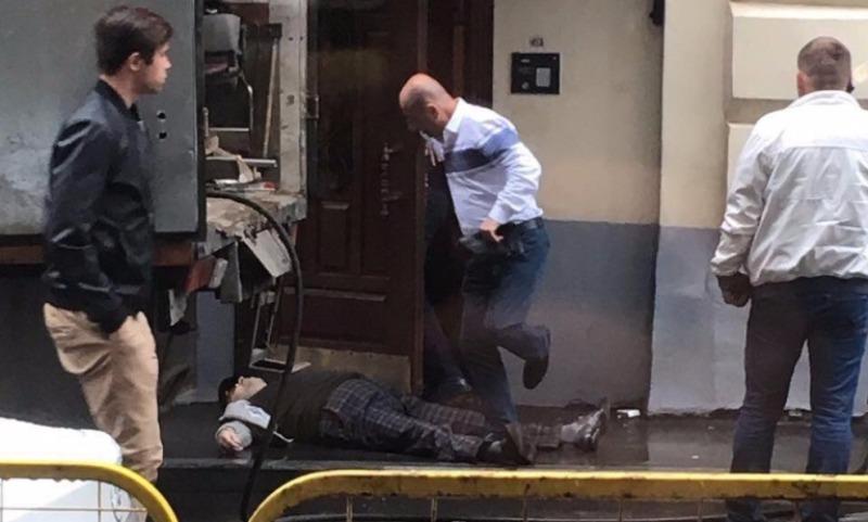 Опубликовано видео смертельной расправы над бизнесменом в Москве