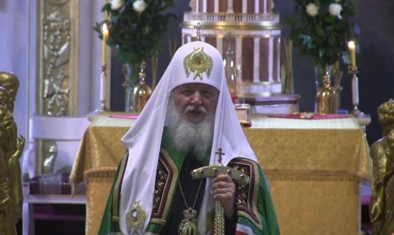 Патриарх Кирилл: паства РПЦ составляет 180 млн человек повсей планете