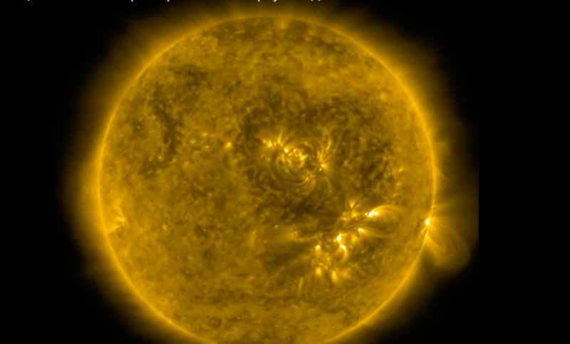 Впервые Солнце решило показать свое