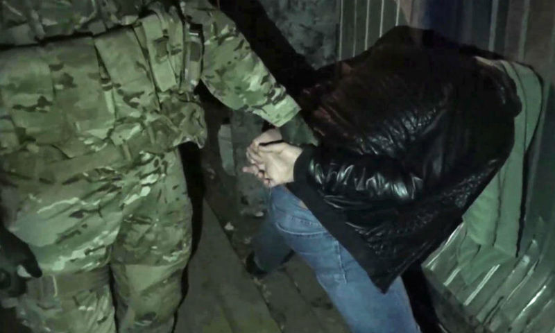 Опубликовано видео задержания членов ИГИЛ в Москве