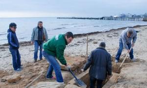 Детскую могилу случайно нашел прохожий в Крыму