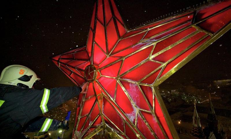 Календарь: 2 ноября - Рубиновые звезды зажглись над Москвой