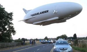 Опубликовано видео с места крушения самого большого в мире воздушного судна