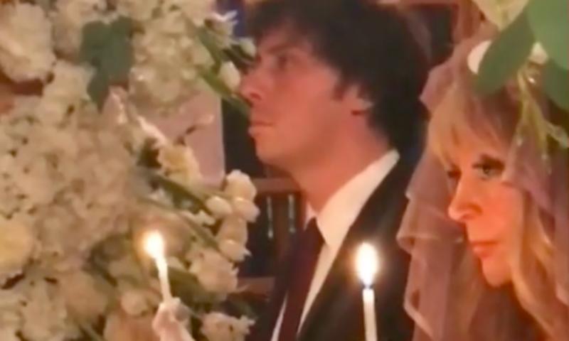 Опубликовано видео венчания Аллы Пугачевой и Максима Галкина