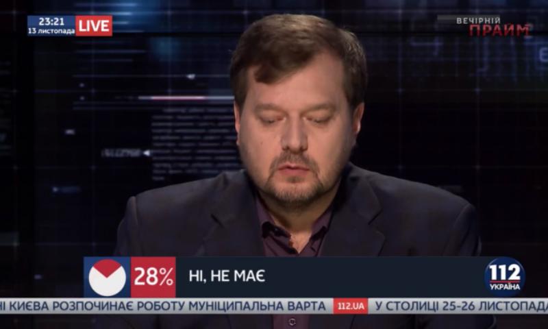 Нардеп пригрозил националисту уехать из Украины