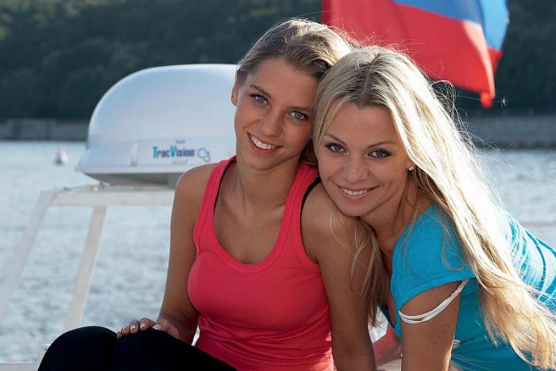 Ирина Салтыкова с дочерью