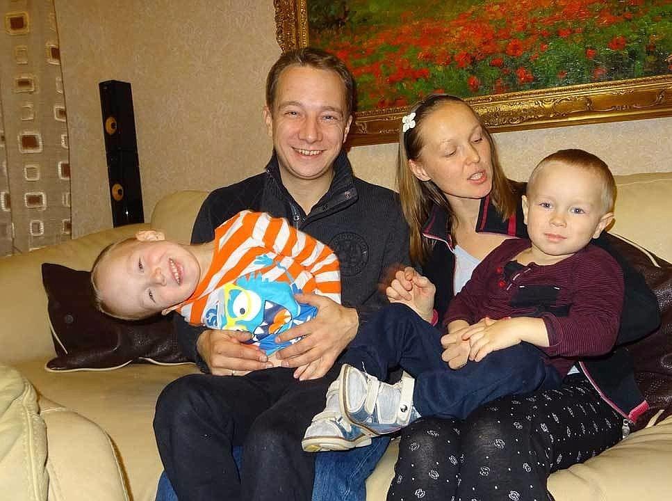два сына Федор и Егор