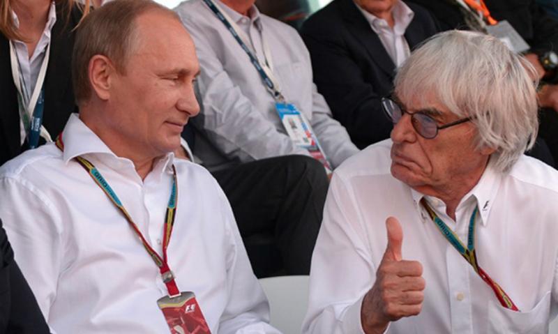 Берни Экклстоун объявил, что Путин должен управлять Европой