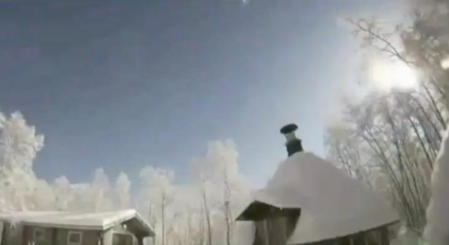 Падение метеорита в Лапландии вызвало панику среди местных жителей