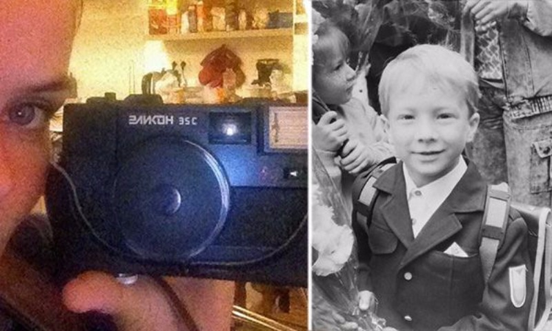 Француженка купила на блошином рынке в России фотоаппарат и не поверила своим глазам