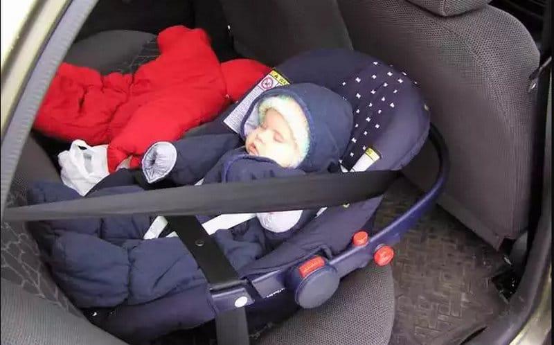 Угонщики вернули автомобиль с грудным малышом хозяйке
