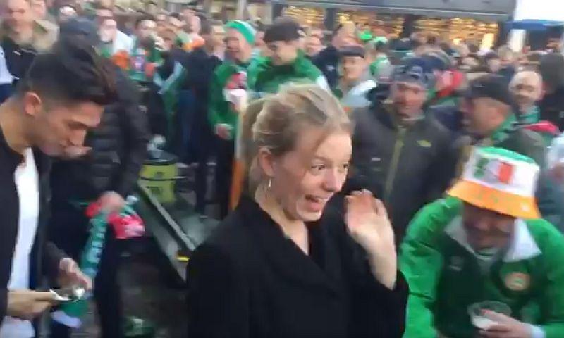 Ирландские фанаты