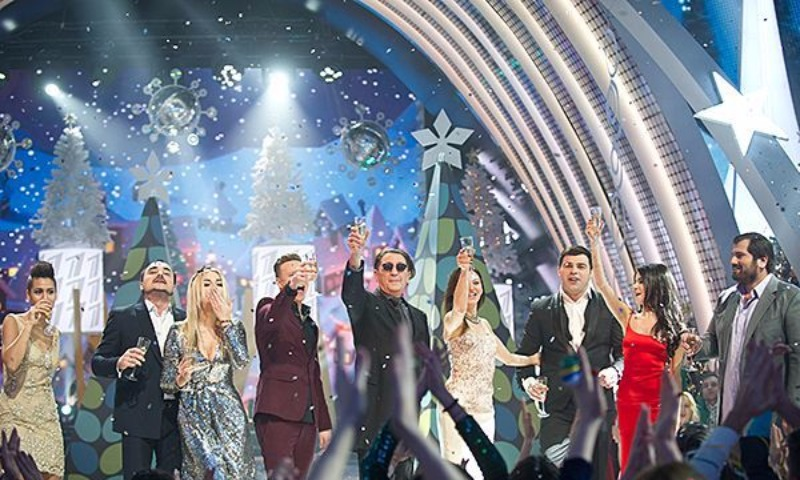 Жители России выбрали звезд, которые выступят наПервом канале вновогоднюю ночь