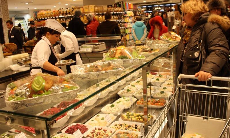 Москвичи платят за продукты намного больше, чем другие жители России