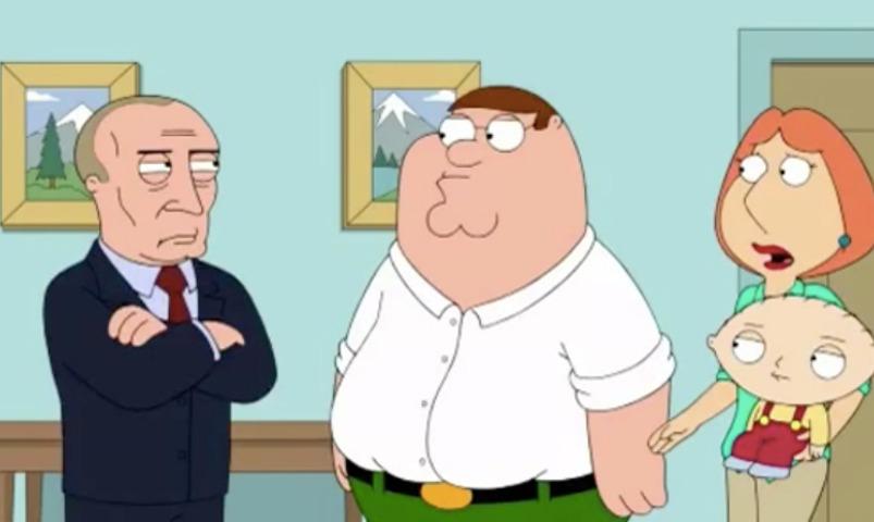 Вочередной серии «Гриффинов» появился персонаж В.Путина