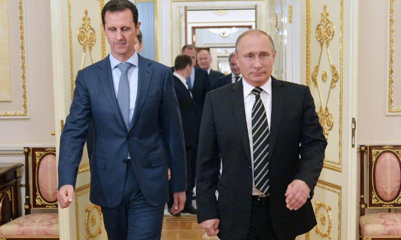 Владимир Путин заявил Асаду о скором завершении военной операции в Сирии