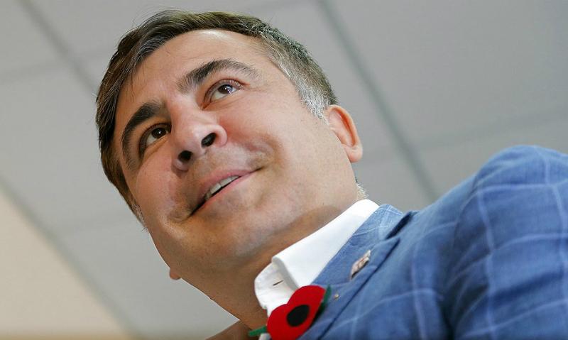 Саакашвили получил разрешение легально проживать на Украине