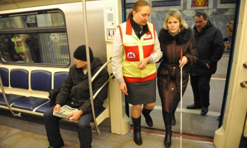 Станции МЦК оснастили мнемосхемой для слабовидящих москвичей