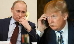 Владимир Путин по телефону рассказал Трампу о встрече с Асадом
