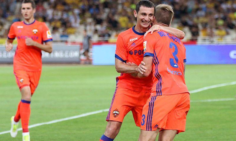 Дзагоев и Вернблум стали героями футбольного матча ЦСКА с