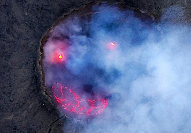улыбка вулкана
