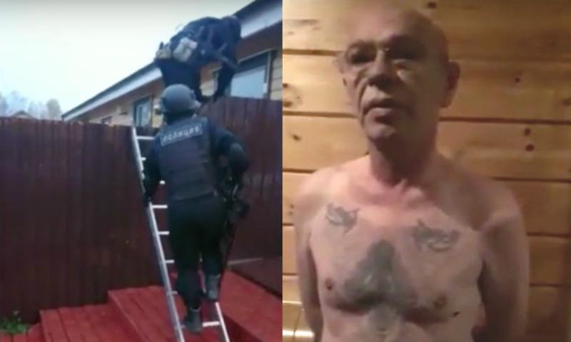 Полиция и спецназ задержали в Подмосковье вора в законе Захара