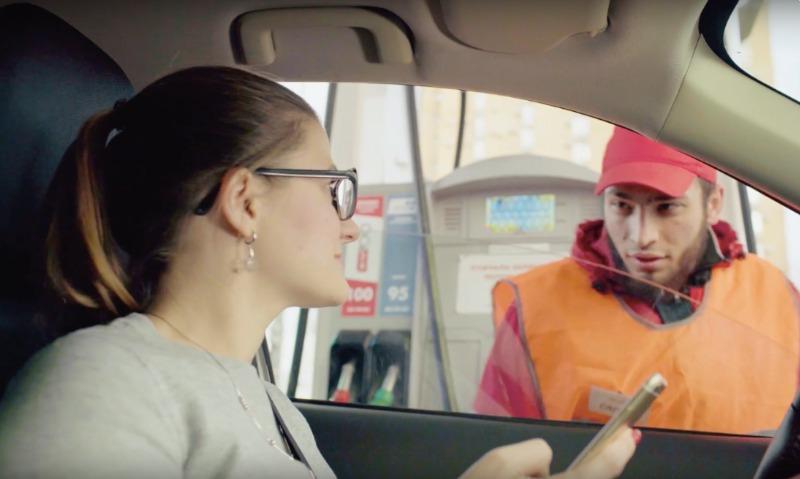 Водителям дали шанс платить за бензин, не выходя из машины