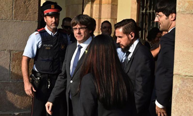 Каталонский лидер арестован бельгийской полицией