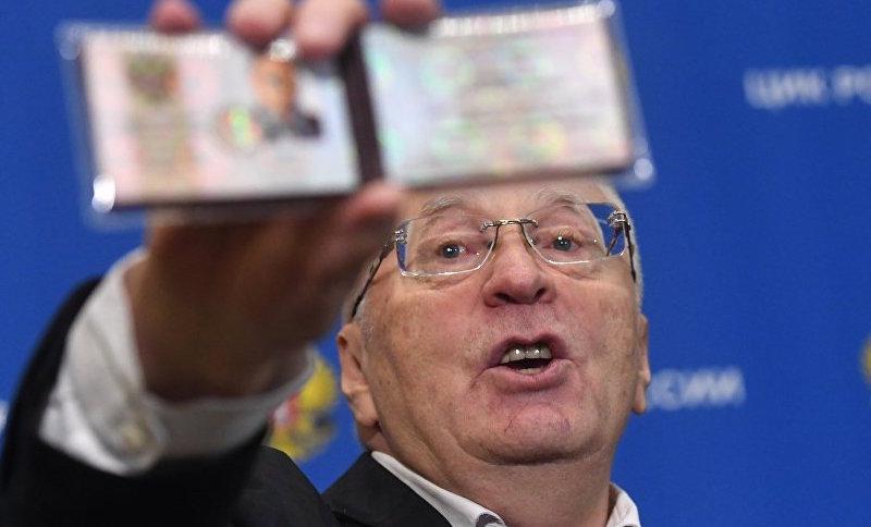 Жириновский объявил о начале восхождения на политический Олимп