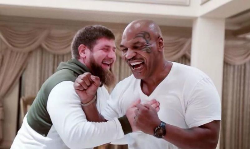 Рамзан Кадыров принял Майка Тайсона в Чечне