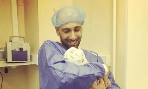 Жена-итальянка родила долгожданную дочь Евгению Папунаишвили