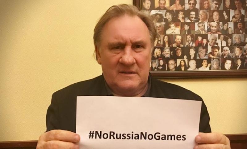 Депардье вступился за униженных российских спортсменов