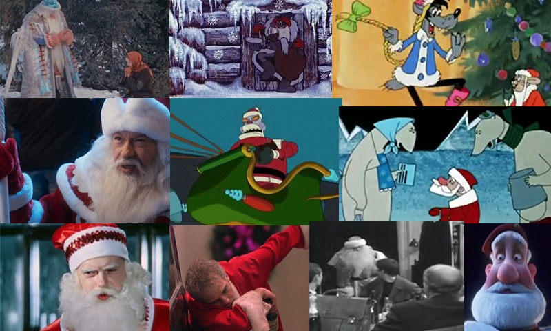 Топ-10 Дедов Морозов и Санта-Клаусов в кино