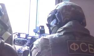 Видео техничной ликвидации боевиков в Дагестане опубликовал НАК