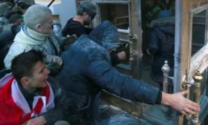 Толпа под началом Саакашвили атаковала детский утренник