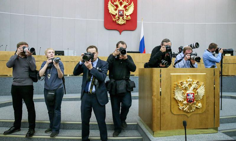 Иностранным агентам заблокировали вход в Госдуму